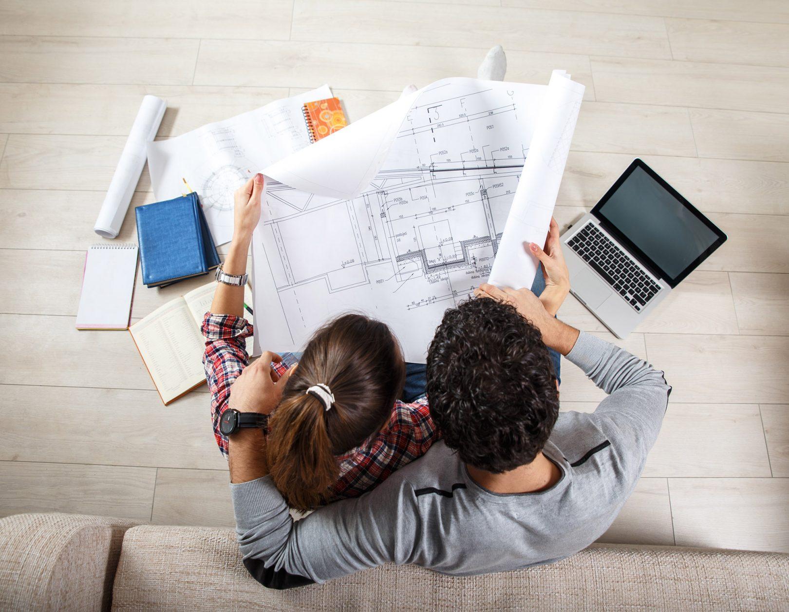 Plan construction maison permis construire 82